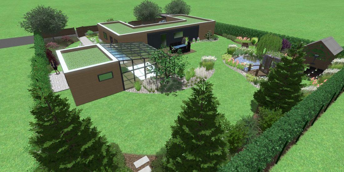 Bezbariérový dům celkový pohled 2
